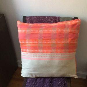 Vibrant Ace & Jig pillow case!